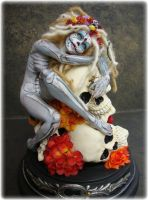 Skeleton Key hand sculpted Art Doll by Viccinoel
