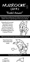 Q and A 2: Rooke's Answers by DragonwolfRooke