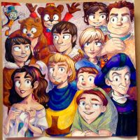 My top Disney films by The-Tabbycat-Witch