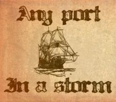 Any port in a storm by emptysamurai