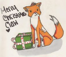 $Merry Christmas Claw$ by cali-cat