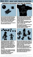 The Equestrian/Human Manual - Rule 012 by INVISIBLEGUY-PONYMAN