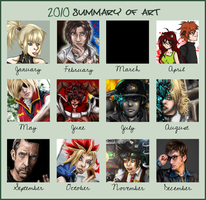 2010 Summary of Art by miss-mustang