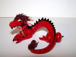 Cartoon Chinese Dragon by ByToothAndClaw
