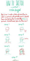 How To Sketch A Portrait by RaiseYourChickenWing
