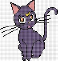 Luna x stitch pattern by Santian69