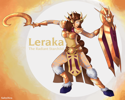 Leraka - The Radiant Starchild by SaltyOkra