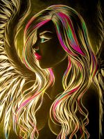 neon angel by carlos0003