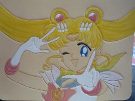 Sailor Moon checkbook v2 Color by dragoon811