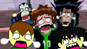 Ben 10 x HLP - A Scary and Funny Reaction by ian2x4