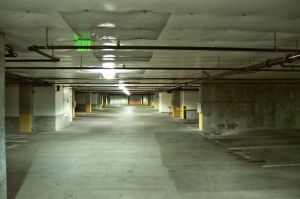 Parking Garage by happeningstock