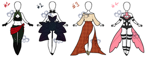 Fashion Adoptables 2 by Miss-Notch
