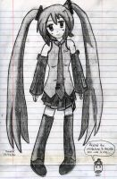 Miku-chan from My Very Early Days by F1rst-Pers0n