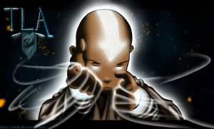 Aang: The Last Airbender by Zeich