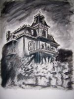 Haunted House by MadHatterAndTea