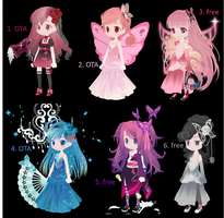 free and OTA butterfly selfy adopts (closed) by i-am-a-fangirl