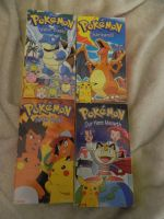 Thrift Store Pick-ups Pokemon VHS Tapes by Champineography