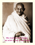 Be the Change by Gandhi-Club