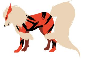 Arcanine-to finish or not by Feartakyuubi