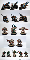 Dark Vengeance Dark Angel Space Marines by razzminis