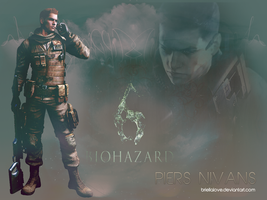 Piers Nivans Wallpapers RE6 by BriellaLove