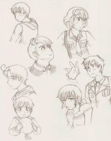 Practice Sketch Dump Thing by gohe1090