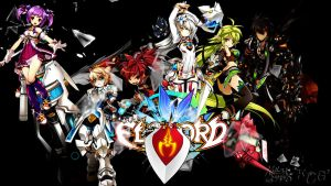 Elsword wallpaper by PouncingPandae