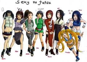 Sexy no jutsu by Lyssasoulless