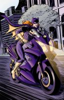 Batgirl Print Color by summey-anthony