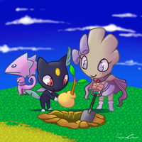 PMD - Event 6 - DIG DIG DIG by nyausi