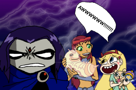 Raven is Unimpressed by FlyingPrincess