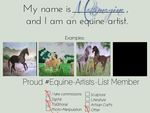 Equine Artist Template by MATTimagine