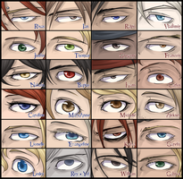 Original: Eyes reference by wolf-zaa