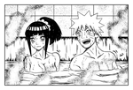 NaruHina Bath Time by Axichan