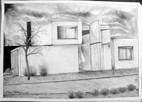 01 Architectural Drawing - Home by Oscarliima