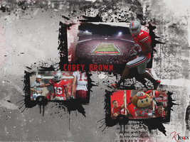 Corey Philly Brown Wallpaper by KevinsGraphics