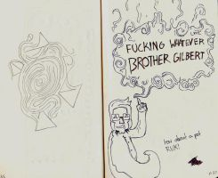Brother Gilbert by TheStrawberryField
