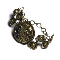 Steampunk Bracelet Relic by CatherinetteRings