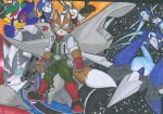 STAR FOX ASSEMBLE by WhiteFox89