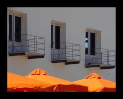 Balconies and Brollies by obenson
