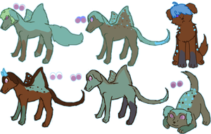 Iref x Buggie Litter - Closed by KittehzAdopts