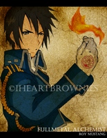 FMA: ROY MUSTANG by iheartbrownies