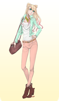 CL.Casual Outfit 1 by Kairi-H