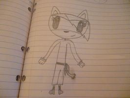Quindrea (my sonic like character) -DRAFT- by Maddyrox14