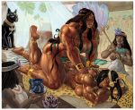 Nathifah's Apsaras Massage commission by Jebriodo