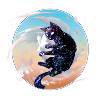 Space Cat by CatusSnake