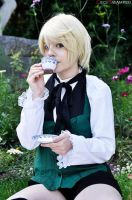 Alois Trancy - Tea Party! by SetsukiMeigetsu