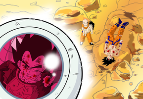 Over...for now by Dbzbabe