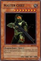 Master Chief card by urkel8534