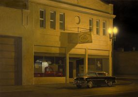 Working Late by markhosmer